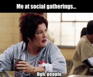 social gatherings funny picture