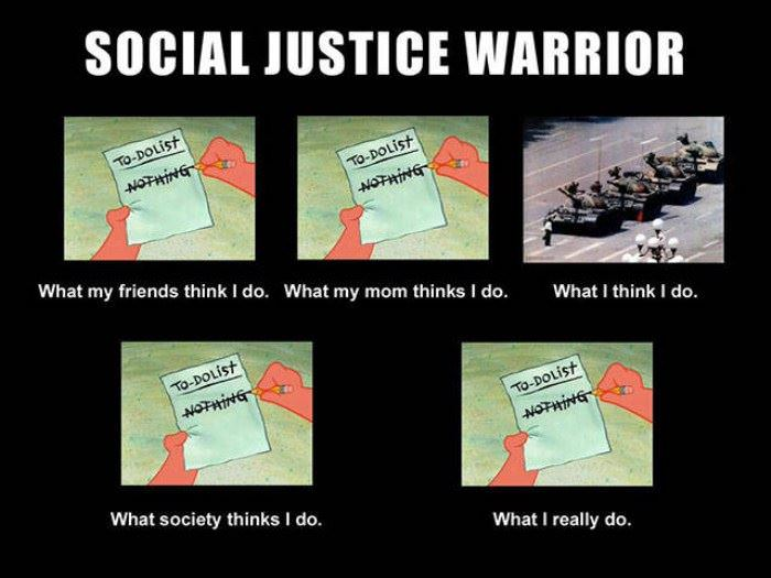 social justice warriors funny picture