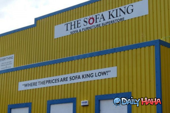 The Sofa King funny picture