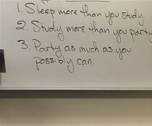 some advice for college funny picture
