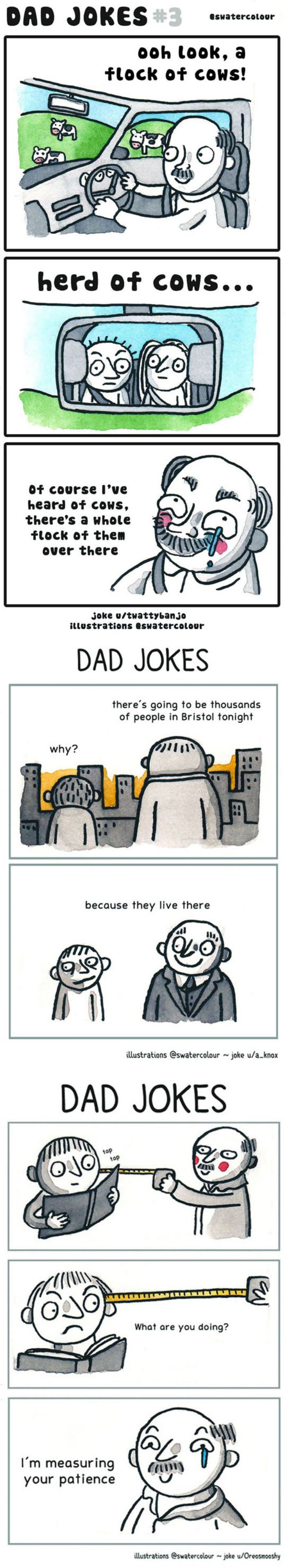 some dad jokes funny picture