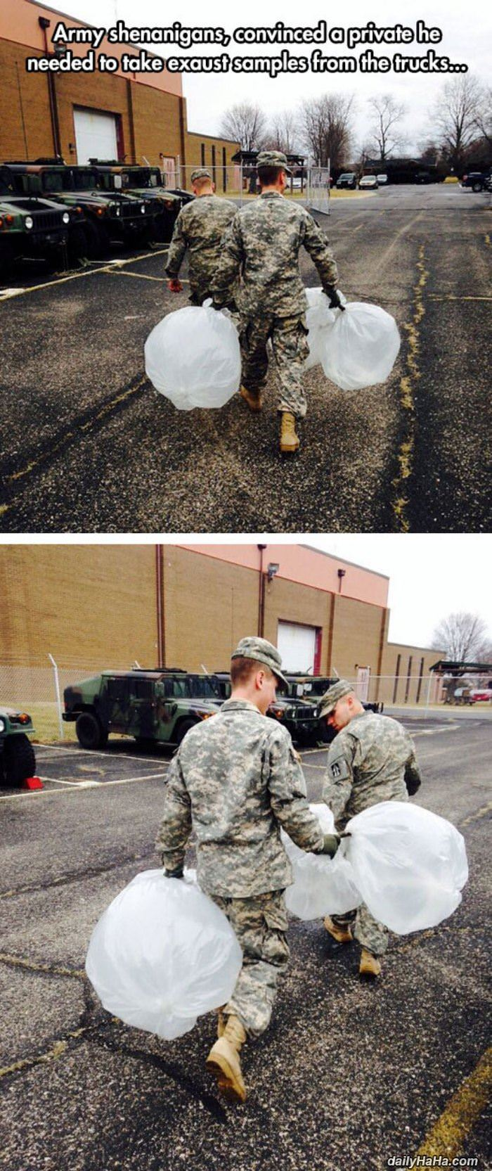 some fun army shenanigans funny picture