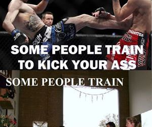 some people train funny picture