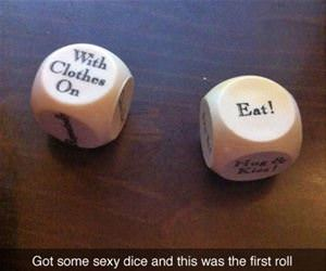 some sexy dice funny picture
