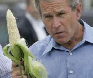 George Bush banana
