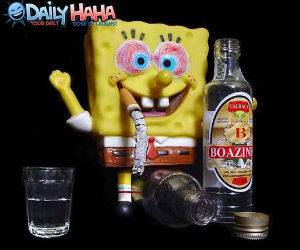 Spongebob Drunk Pants