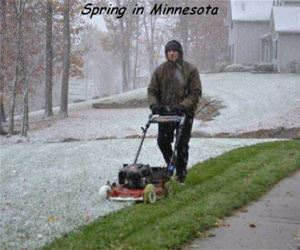 spring in minnesota funny picture