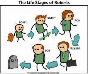 Stages Of Roberts funny picture