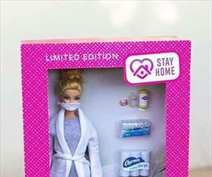 stay at home barbie