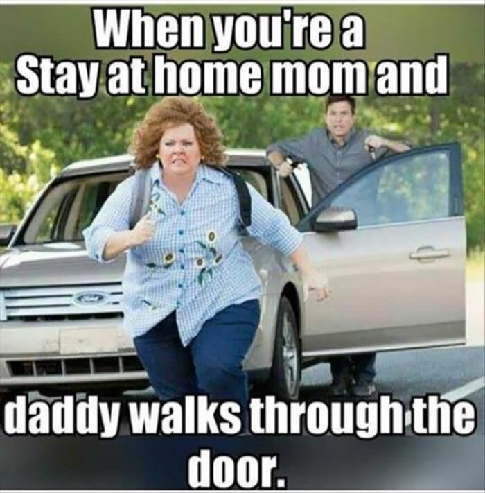 stay at home moms know funny picture