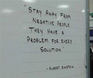 stay away from negative people funny picture