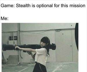 stealth is optional for this mission ... 2