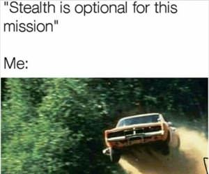 stealth is optional for this mission