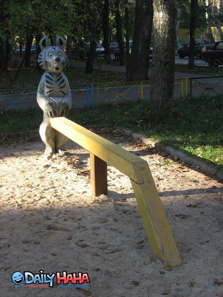 Inappropriate Playground Equipment