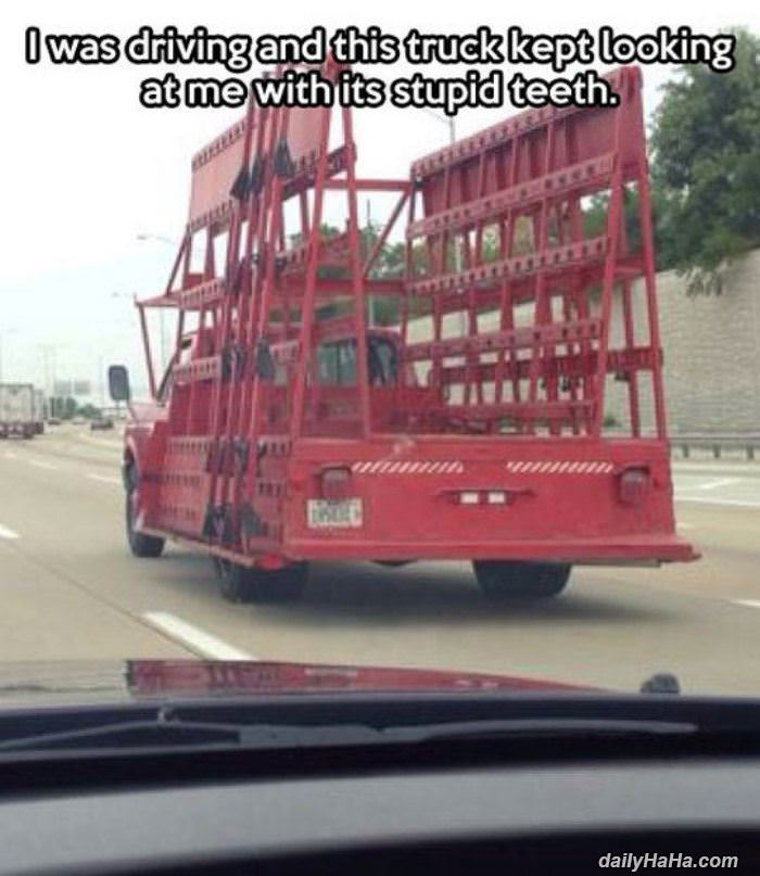 stupid looking truck funny picture