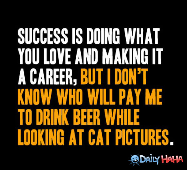 Success funny picture