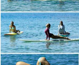 Surf Yoga funny picture