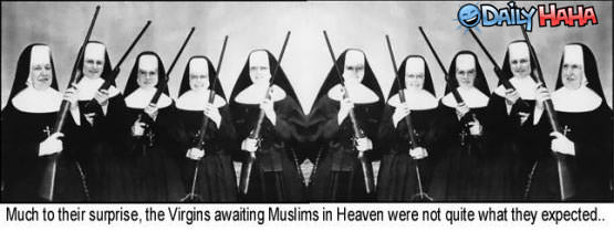72 Virgins in Heaven