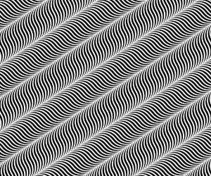 Swirly Lines Illusion