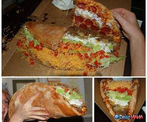 Taco Pizza funny picture