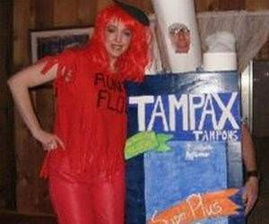 Tampax and Aunt Flo funny picture