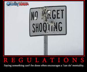Target Shooting Regulations