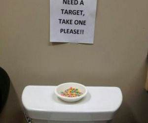 Potty Targets funny picture