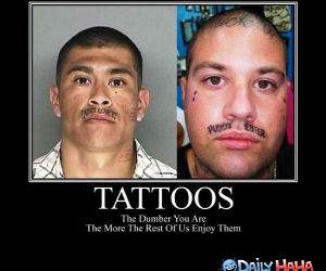 Tattoos funny picture