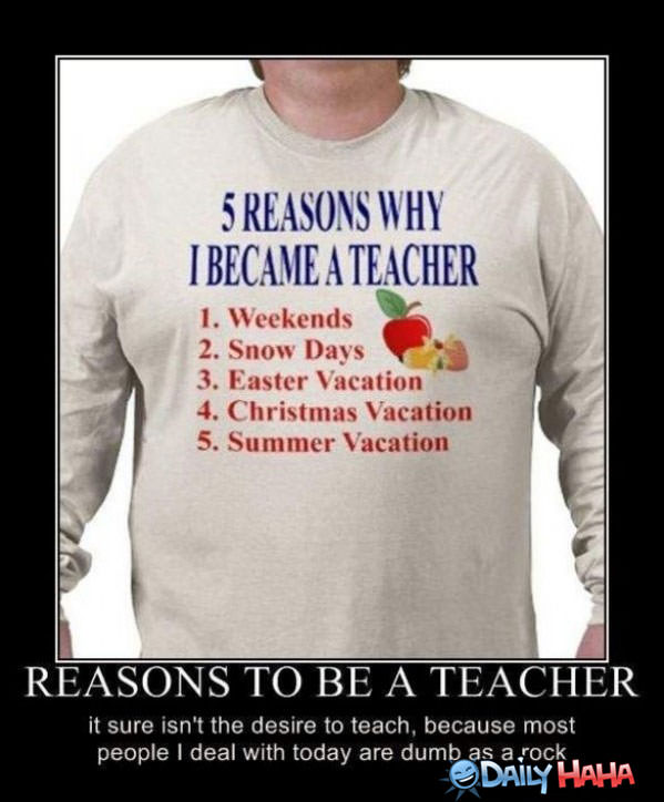 Teachers funny picture