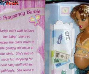 Teen Pregnancy Barbie