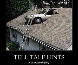 Tell Tale Hints funny picture