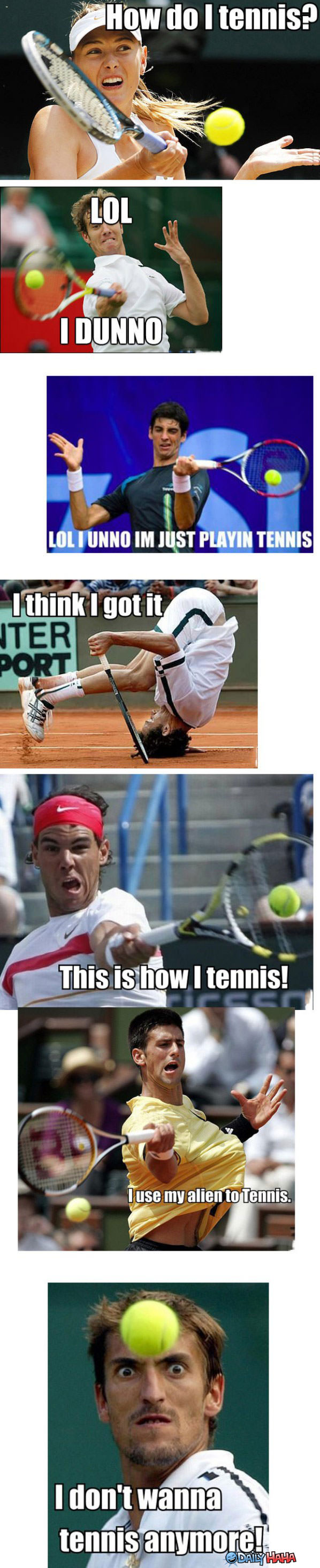 Do Tennis funny picture