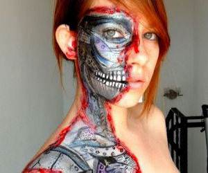 Terminator Girl funny picture