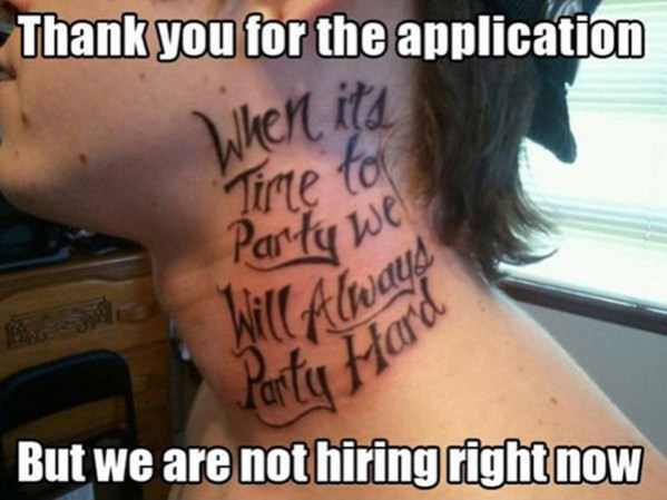Funny No Thank You Meme : Application