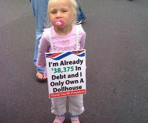 Already in Debt funny picture