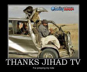Thanks Jihad TV funny picture