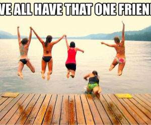 That One Friend funny picture
