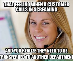 that customer service feeling funny picture