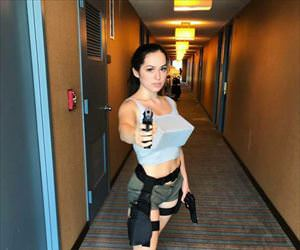 the best lara croft cosplay
