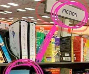 the fiction area