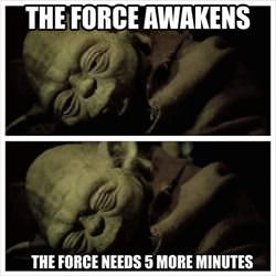the force ... 2