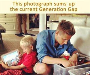 the generation gap summarized