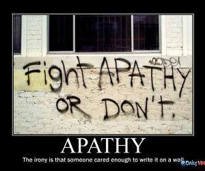 Irony Not Apathy funny picture