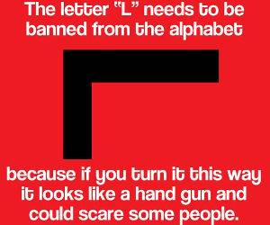 The Letter L funny picture