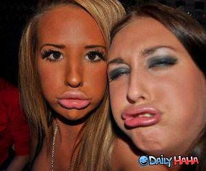 Pucker Up funny picture