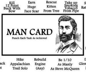 The Man Card funny picture