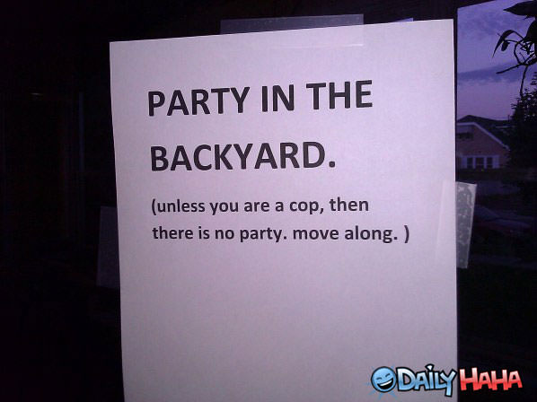 My Party funny picture