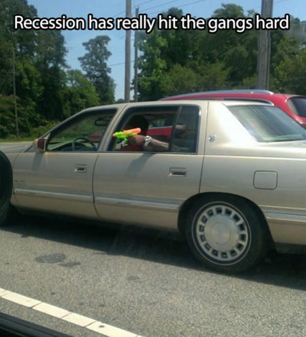 The Tough Recession funny picture