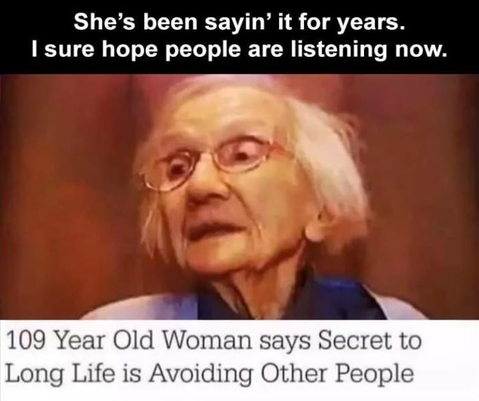 the secret to a long life
