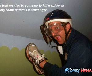 The Spider Killer funny picture